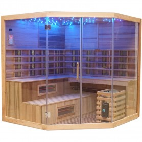 Outgoing products Multib Sauna Corner 6-7 persons Sauna outer dimensions: Length: 2060 mmHeight: 2000 mmWidth: 2060 mmSold out a