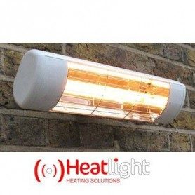 Outgoing products HeatLight HLW15 terrace heater 1500 w - Silver