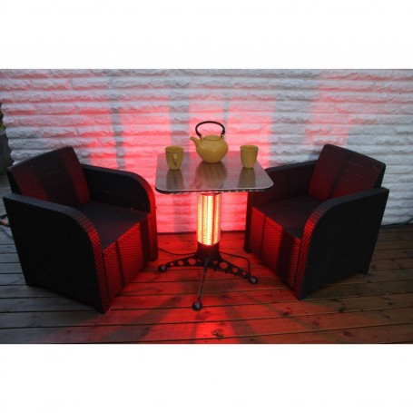 Outgoing products Coffee table with 360 degree heat -1000W