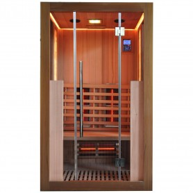 Outgoing products Sauna Salty Sauna, Shop samples Sauna outer dimensions: Length: 1200 mmHeight: 2000 mmDepth: 1000 mmStore'