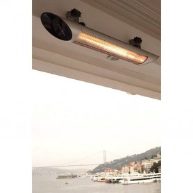 Patio heater Patio heater Blade Silver 1200W Infrared heater Delivery time: Out of stock, Can be pre-orderedFreight cost