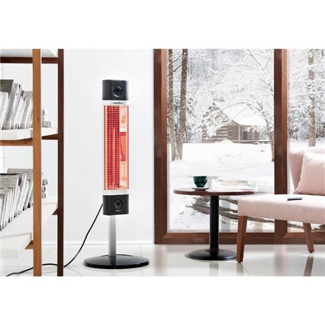 Terrace heater Veito room heater Black 1700W