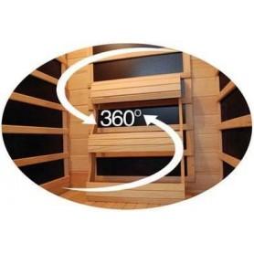 Outgoing Sauna Luxline Trio Corner