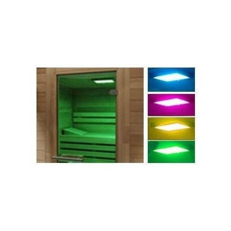 Light therapy Color therapy for sauna> 5m2