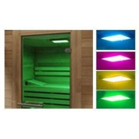 Light therapy Color therapy for sauna> 10m2