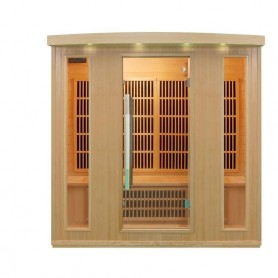 Outgoing Sauna Delfi Grand Lux for 4 people