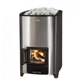 Narvi wood-fired Sauna stove Narvi NC 16 Stainless For sauna sizeBastoon size 8-16 m3Furnished unitBuild woodfurned with