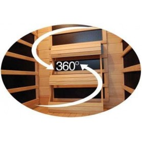 Outgoing products Ambrosia Hemlock Sauna for 4 persons