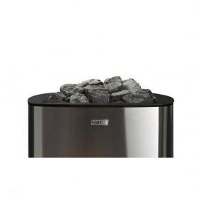 Narvi wood-fired sauna oven Narvi NC 20 Stainless For sauna sizeBastoon size: 8-20 m3