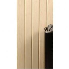 Sauna panel ASP 15x90 Sauna panel in asp. 15x90mm Length: 2.4 m. 6 pcs. Length: 2.4 m. 6 pcs.