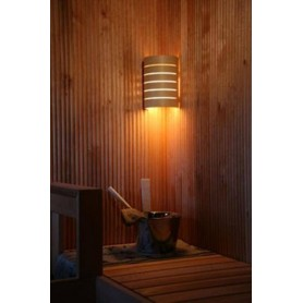 Lighting Sauna lamp Raita in heat-treated birch