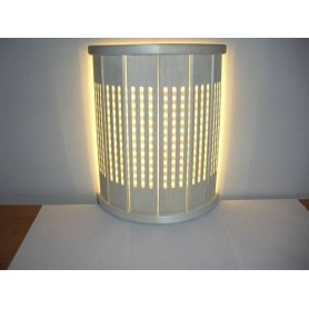 Lighting Sauna lamp with joints. Asp, straight wall.