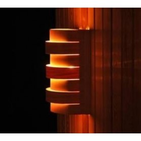 Shades Sauna lampshade 917D Cedar, wall and corner model