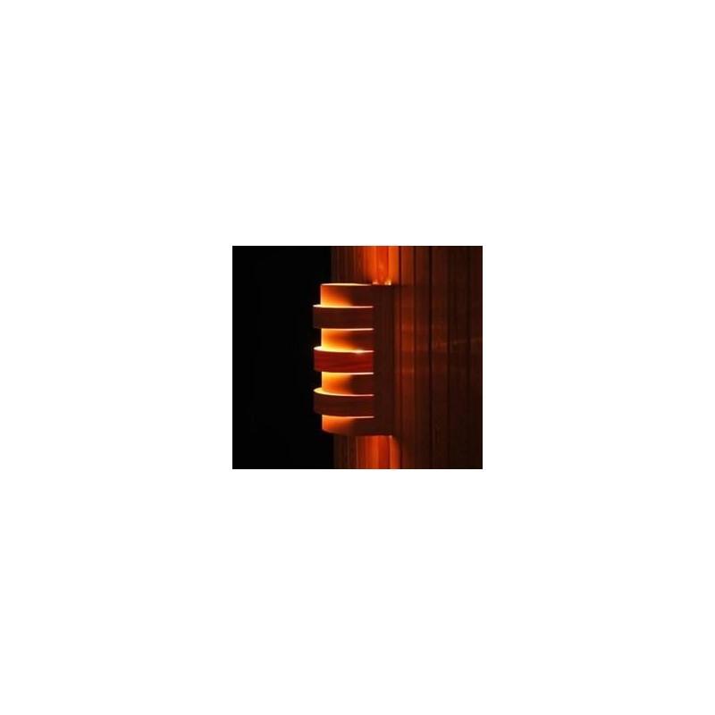 Shades Sauna lampshade 917D Cedar, wall and corner model
