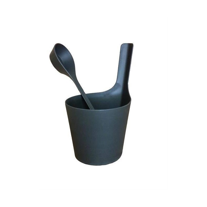 Rods and buckets Rento sauna rig and bucket of biocomposite