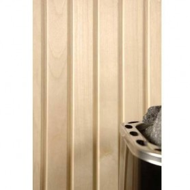 Sauna panel ASP 15x68 Sauna panel in asp. 15x68mm Length: 2.7 m. 6 pcs. Length: 2.7 m. 6 pcs.