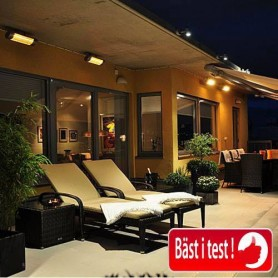 Patio heater Blade Black 2000W