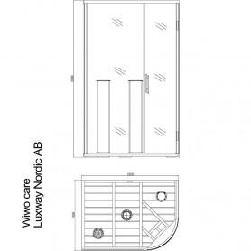 Sauna Infrared Wiwo Care