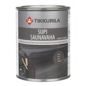 Sauna Oil | Bastuvax Bastuvax Black 1 liter