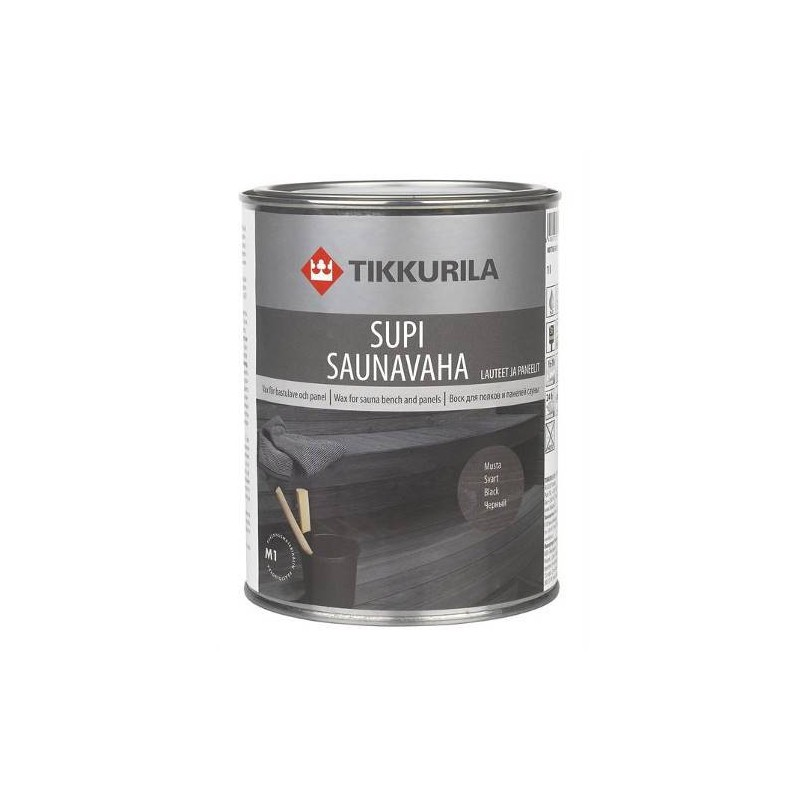 Sauna Oil   Bastuvax Bastuvax Black 1 liter
