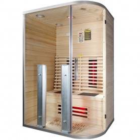 Sauna for 2 people Infrared Wiwo Care