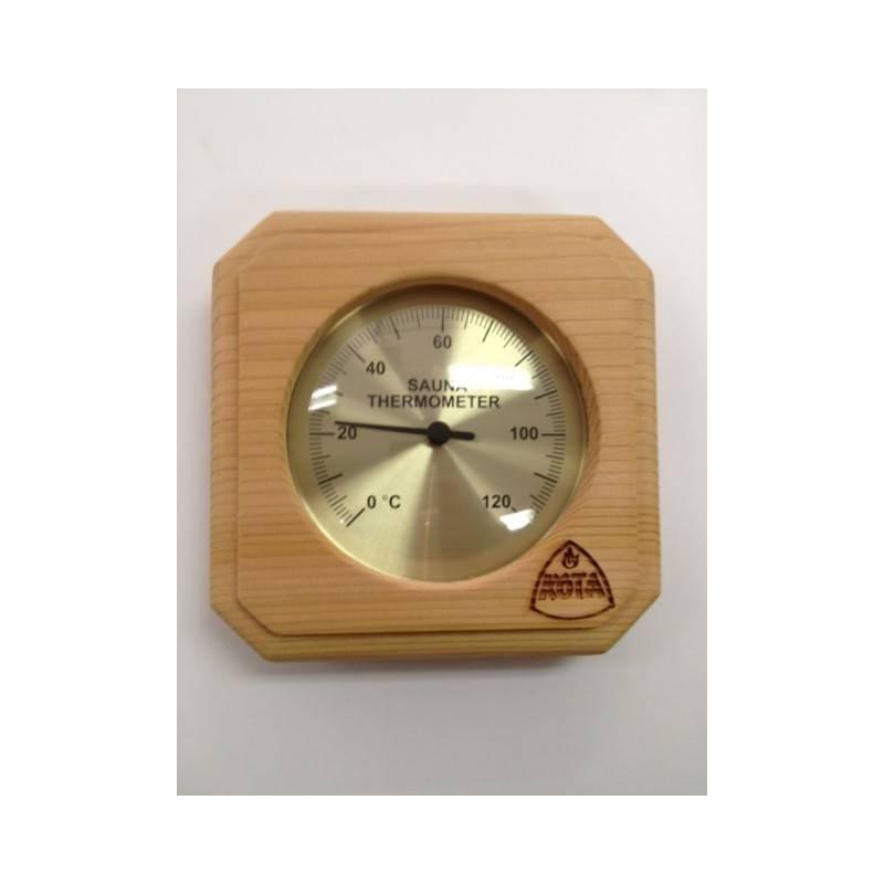 Thermo and hygrometer Kota Bastuterometer square cedar - 220 TD