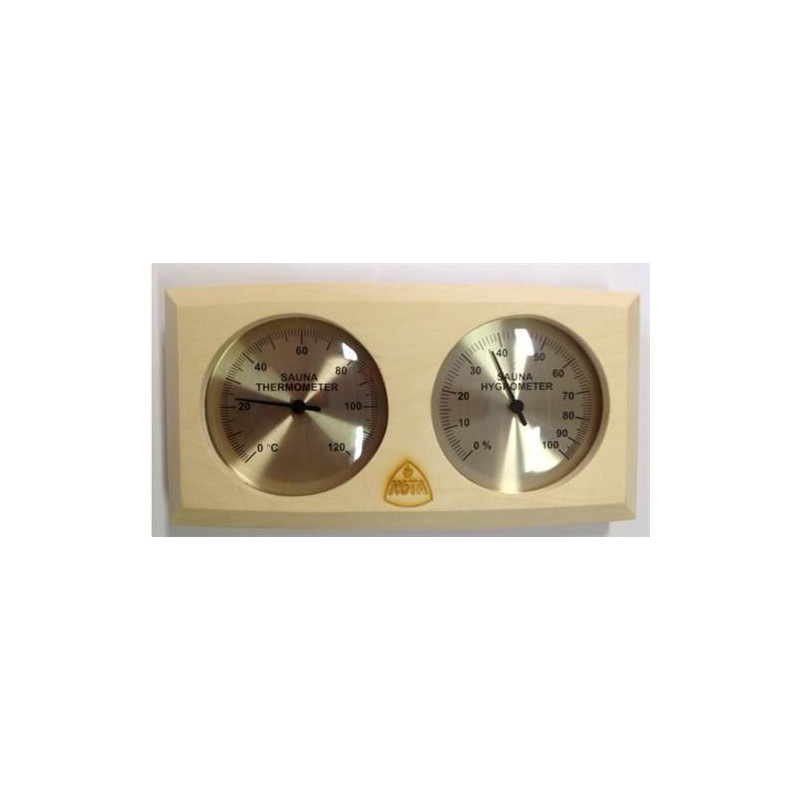 Thermo and hygrometer Kota Thermometer / Hygrometer asp wood