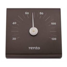 Thermo and Hygrometer Rento sauna thermometer in Aluminum Graphite-gray