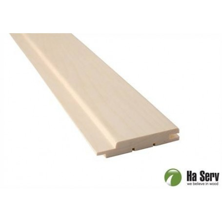Sauna panel ASP 15x90 Sauna panel in asp. 15x90mm Length: 1.8 m. 6 pcs. Length: 1.8 m. 6 pcs.