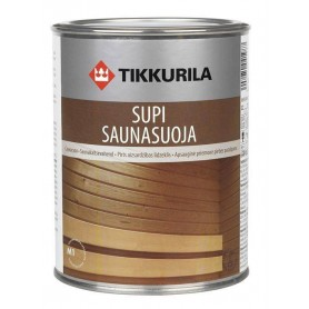 Sauna Oil | Sauna wax Supi Sauna cover for panels 0.9l