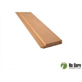 Sauna panel AL 15x90 Sauna panel al. 15x90mm Length: 2.7 m. 6 pcs. Length: 2.7 m. 6 pcs.