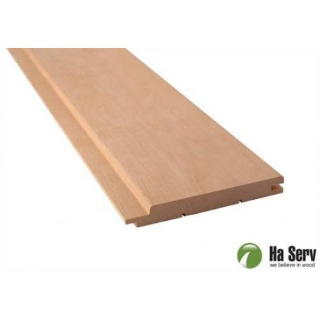 Sauna panel AL 15x125 Sauna panel al. 15x125mm Length: 3.0 m. 6 pcs. Length: 3.0 m. 6 pcs.
