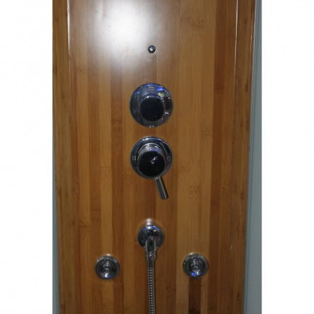 Shower cabin Infrared InfraDusch Eco Line 1 person Outside dimensions: Length: 1000 mmHeight: 2150 mmDepth: 1000 mmSold out !. P