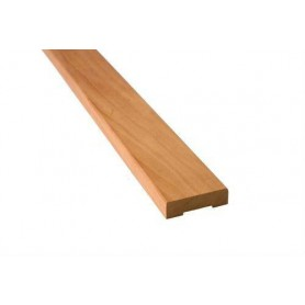 Wooden moldings for sauna 12x42 Lining in heat treated aspen. Length: 2.4 m