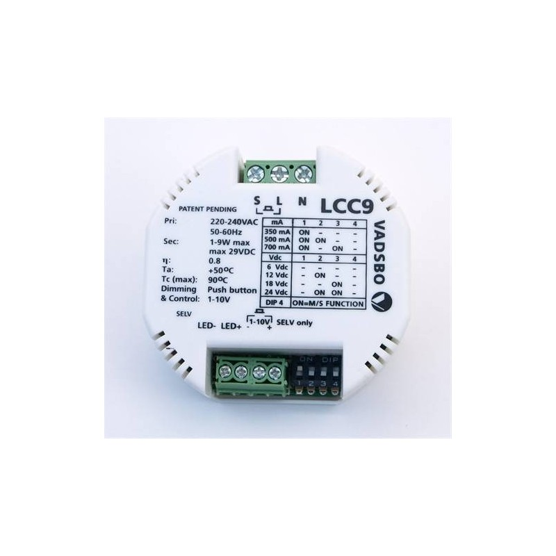 Transformer and accessories Drives & Dimmer LED Sauna 12V 9w LCC9