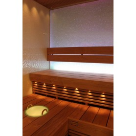 Lighting Cariitti Fiber Lighting with Led Projector, 16 fibers. VPL10