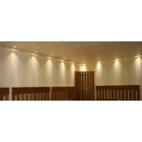Lighting Sauna lighting LedLite 12 180 ° C (12 diodes) Black