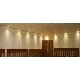 Lighting Sauna lighting LedLite 12 180 ° C (12 diodes) WHITE
