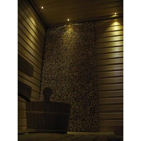 Lighting Sauna lighting LedLite 6 180 ° C (6 diodes) BLACK
