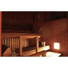 Lighting Sauna lamp Recessed Kuivi Al