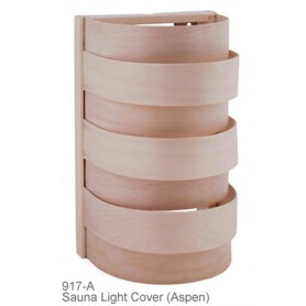 Shades Sauna lampshade 917A Asp, wall and corner model