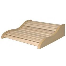 Backrest, armrests and breaks Backrest / Sauna pillow in aspen