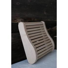 Backrest, armrests and breaks Sauna pillow in aspen