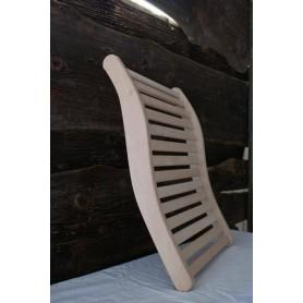 Backrest, armrests and breaks Backrest in al, 400 x 510 mm