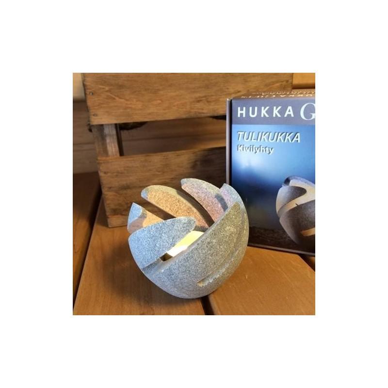 Other sauna accessories Hukka Candlestick of soapstone