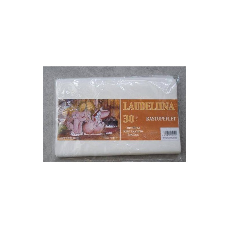 Other sauna accessories Low-seat cover, disposable, 30 pack