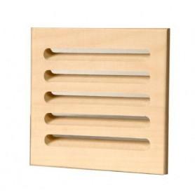 Other sauna accessories Ventilation grilles in al