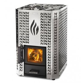 Narvi wood-fired sauna oven Narvi Stony 20 Stainless For sauna size Sauna size 8-20 m2