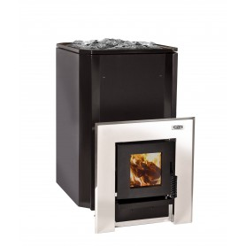 Aito Wood-fired Sauna Aito 20, tunnel model, black enamel