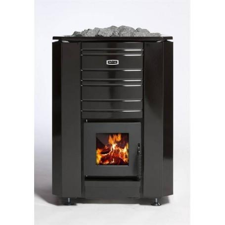 Aito Wood-fired Sauna Aito 24, black enamel